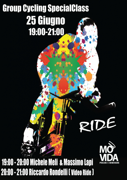 Group Cycling SpecialClass prenota la tua Ride con noi !